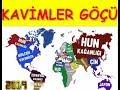 Kalktı Göç Eyledi Türk İlleri, Kavimler göçü