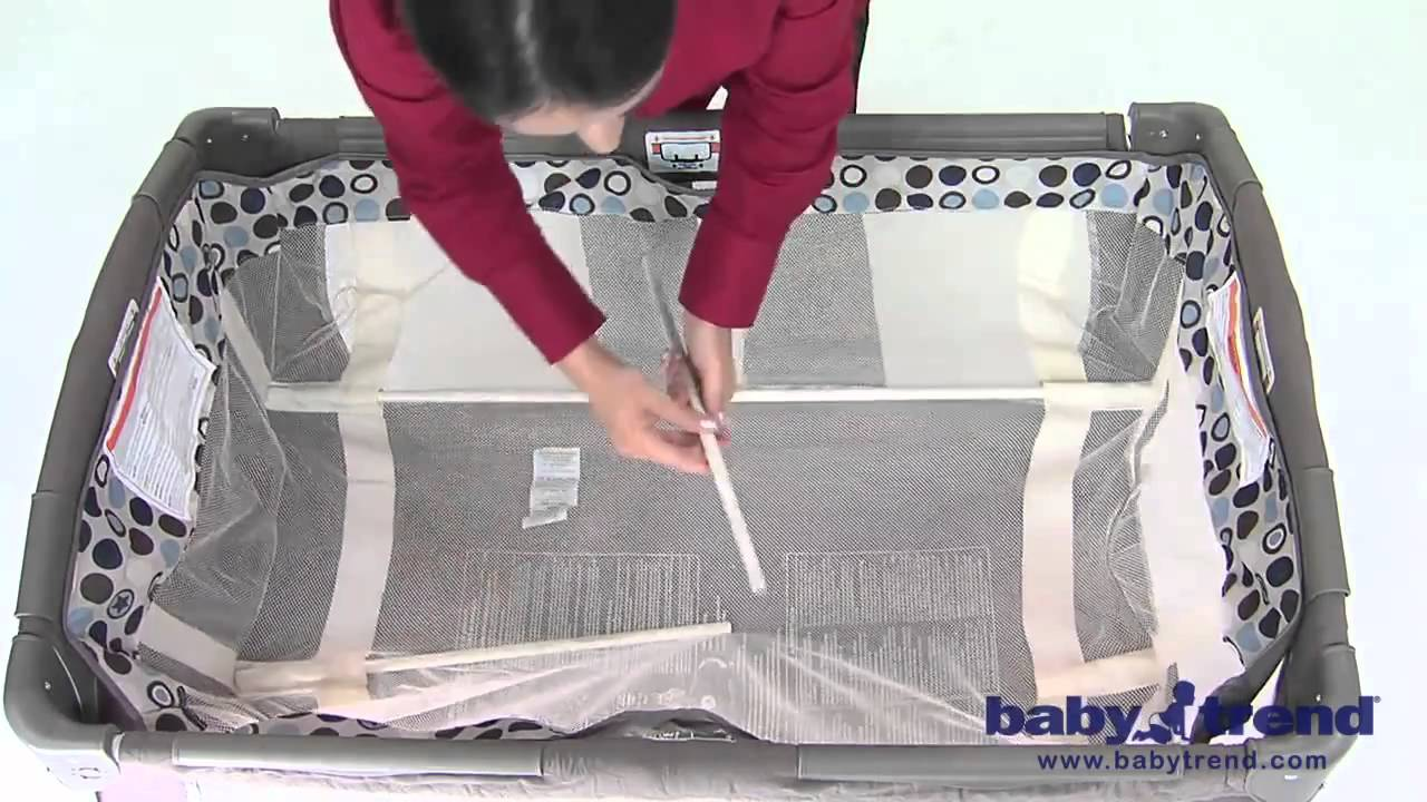 Baby Trend Playard Assembly  YouTube