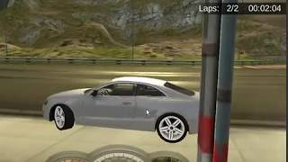 Gtx racing 2018 car driving game green mountains track score time 4:08