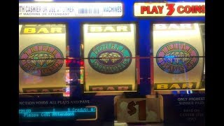JACKPOT LIVE★Double Triple Diamond Slot Hand pay on Free Play ! Slot Machine Huge Win, Akafujislot
