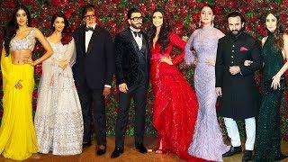Bollwyood Stars At Deepika Padukone & Ranveer Singh's Final WEDDING/Marriage Party Complete HD