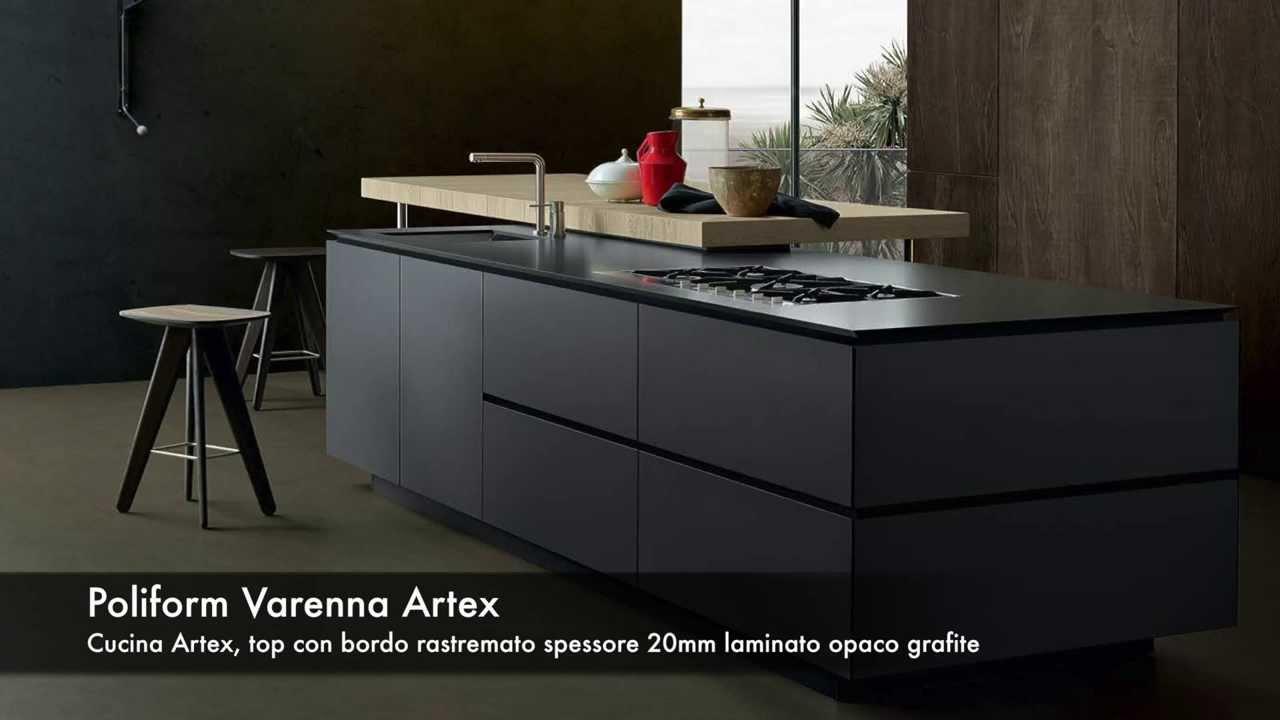 POLIFORM Varenna Cucina ARTEX da Delc Mobili a S Antonino Ticino Svizzera  YouTube