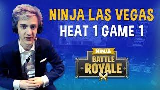 Ninja Las Vegas Heat 1 Game 1 - Fortnite Battle Royale Gameplay