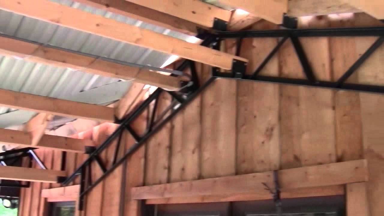 Pole Barn Kits STEEL TRUSSES And Carports YouTube