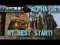 7 Days to Die: Alpha 16 | Single Player: #1 ″My Best Start!″
