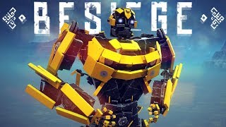 COOL TRANSFORMERS & MORE! | Besiege #99.4 | Player Creations!