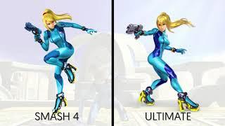 Smash Ultimate Characters Buffed and Nerfed