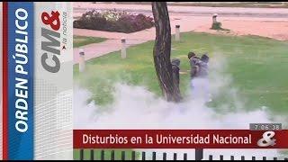 Disturbios en la Universidad Nacional