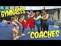 Gymnast VS Coach Add On Gymnastics Challenge| Rachel Marie