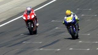 MotoGP Historic Battles - Rossi vs Stoner Laguna Seca 08'