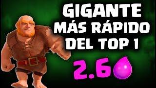 ¡EL GIGANTE MÁS RÁPIDO, 2.6 ELIXIR! LO USA EL TOP1 DEL MUNDO | Malcaide Clash Royale