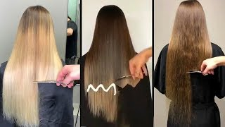 Top Amazing Long Hair Cutting Tutorials Compilations! Long Hairstyle Transformations 2018