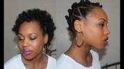 29. fluffy afro - bantu knot