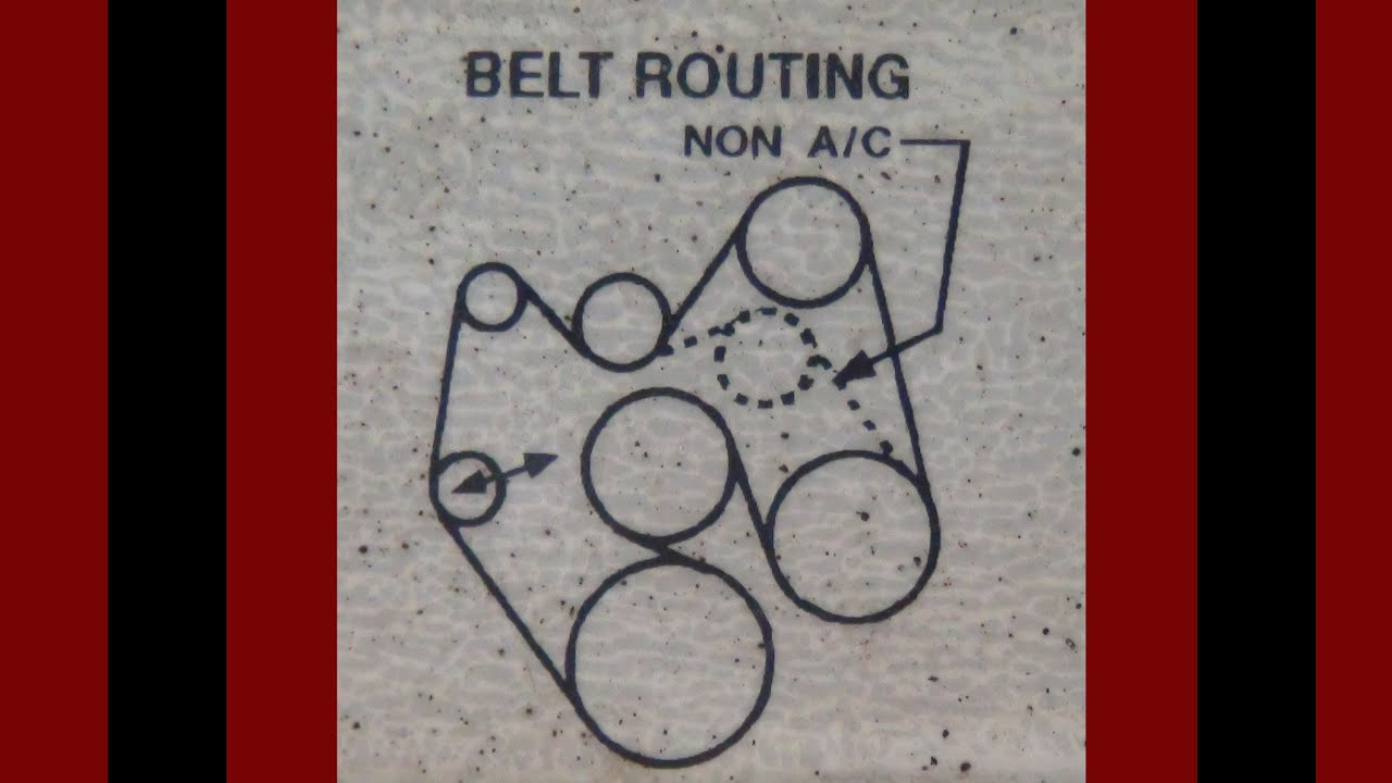 1995 Chevrolet Pickup Serpentine Belt Routing And Timing Belt Diagrams