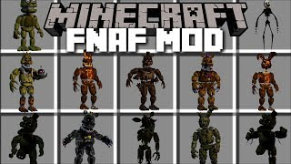 Minecraft FIVE NIGHTS AT FREDDY'S MOD / KILL SCARY MONSTERS AND SURVIVE!! Minecraft