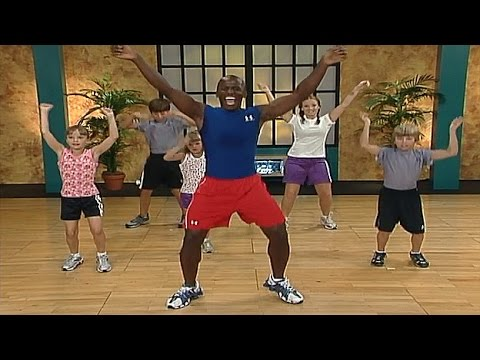 Fun Dance Exercises For Kids and Kids Fitness Workout on ...