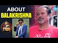 Jayanth C About Balakrishna || Frankly With TNR || Talking Movies With iDream