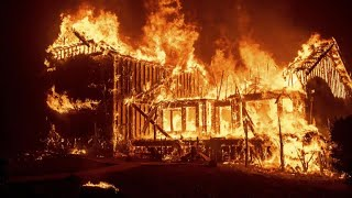 Northern California town destroyed by wildfire