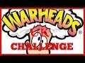 Warheads Extreme Sour candy Challenge UK