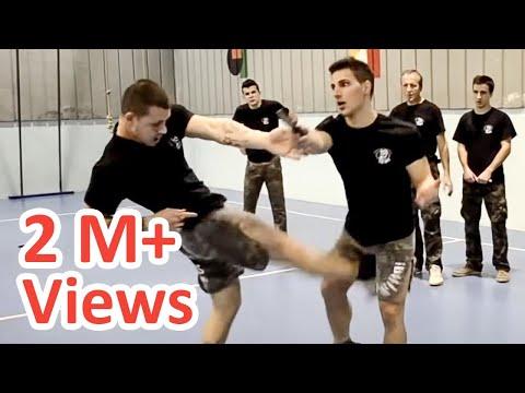 KRAV MAGA TRAINING • The fastest Knife disarm - YouTube