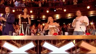 Simon Pushes Golden Buzzer For The Most Difficult Song In The World!