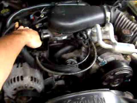 1996 Gmc Safari Wiring Diagram Motor Vortec 4 3 V6 Blazer Youtube