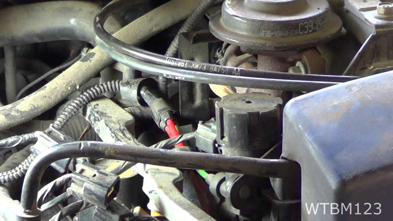 Ford 3 0 V6 Engine Firing Diagram Misfire Ford Spark Plug Change And Po304 P0302 Youtube