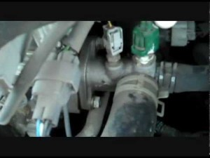 How to replace the Coolant Temperature Sensor 2001 Toyota
