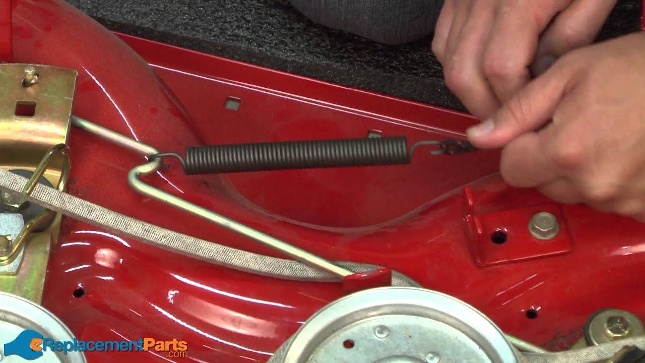 huskee lawn mower parts diagram dental numbering how to replace the extension spring on a troy-bilt pony ...