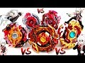 CHO-Z SPRIGGAN vs ALL SPRIGGANS Evolutions Beyblade Burst Turbo Chouzetsuベイブレードバースト超ゼツ