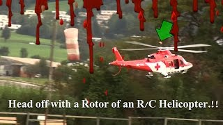 Rescue Mission goes wrong turbine Modell R/C Helicopter REGA Agusta A-109