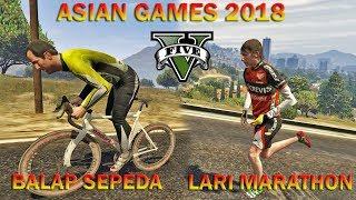 PERLOMBAAN ASIAN GAMES 2018 - GTA 5 MOD INDONESIA