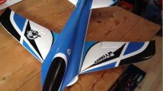 STINGER 64 EDF JET Unboxing - RX Placement - Motor & Servo