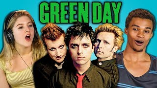 TEENS REACT TO GREEN DAY