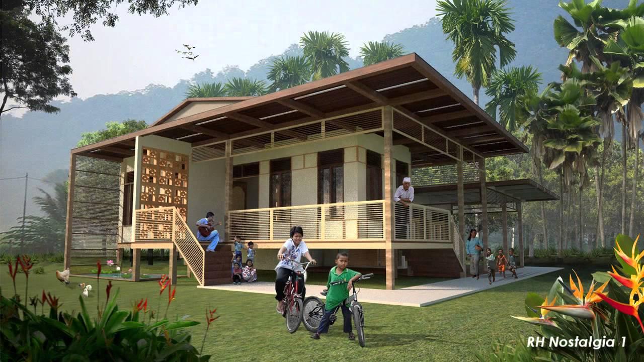 Rumah Hijau Design Concept Video Nostalgia  Secebis