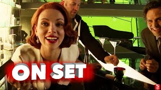 Avengers: Age of Ultron: All Bloopers and Outtakes Funny Edit - Robert Downey Jr., Chris Evans