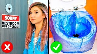 33 LIFE-SAVING HACKS FOR ANY KIND OF TROUBLE