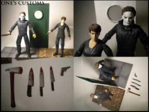 Now On Ebay Halloween H20 Custom Figures YouTube