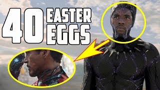 Black Panther - All the Easter Eggs and Secrets