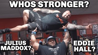HOW TO BENCH 740LB WITH JULIUS MADDOX | WORLD RECORD HOLDER