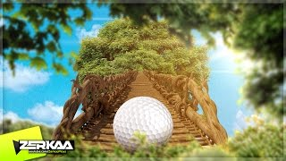 GOLF IN A GIANT TREE! (Golf It)