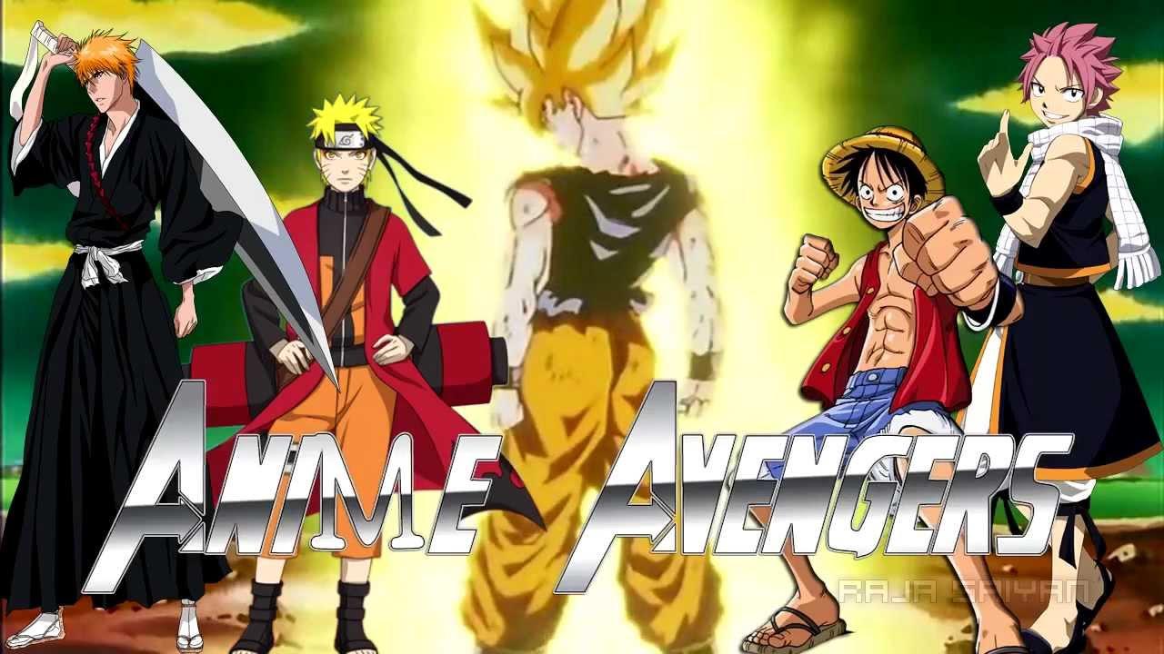 Ichigo Tsuna Naruto Goku Natsu Luffy