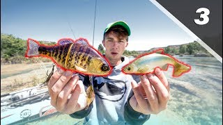 Fishing GIANT Swimbaits in Crystal Clear River│Devils River Series Pt. 3