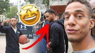 JE RENCONTRE MON JOUEUR NBA PRÉFÉRÉ ! STEPH CURRY A PARIS !