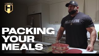 MUSCLE BUILDING MEALS | Packing Your Meals