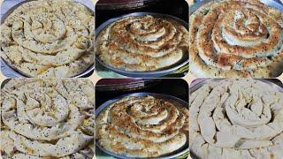 Ispanaklı Çarşaf kıvrık börek tarifi Şadiye anne yemekleri