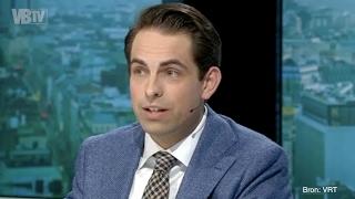 Tom Van Grieken in debat met John Crombez in Terzake