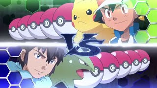 Pokémon Kalos League Finals- Ash VS Alain! Full battle [Full HD]