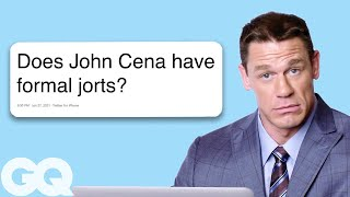 John Cena Goes Undercover on Twitter, , and Reddit | Actually Me | GQ