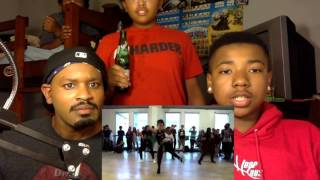 Top Young Hphop Dancers reaction with kida the great
